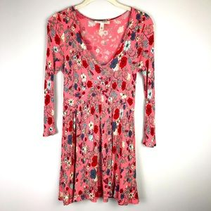 Jessica Simpson Maternity Blush Pink Floral Top S